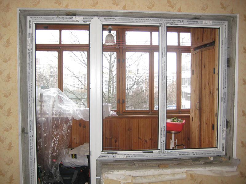 Технология монтажа пластиковых окон на балкон фото. - окна и.